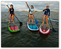 San Diego Stand Up Paddleboarding