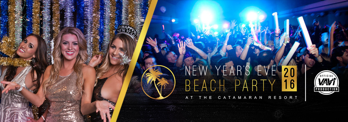 New Years Eve Beach Party Catamaran Resort