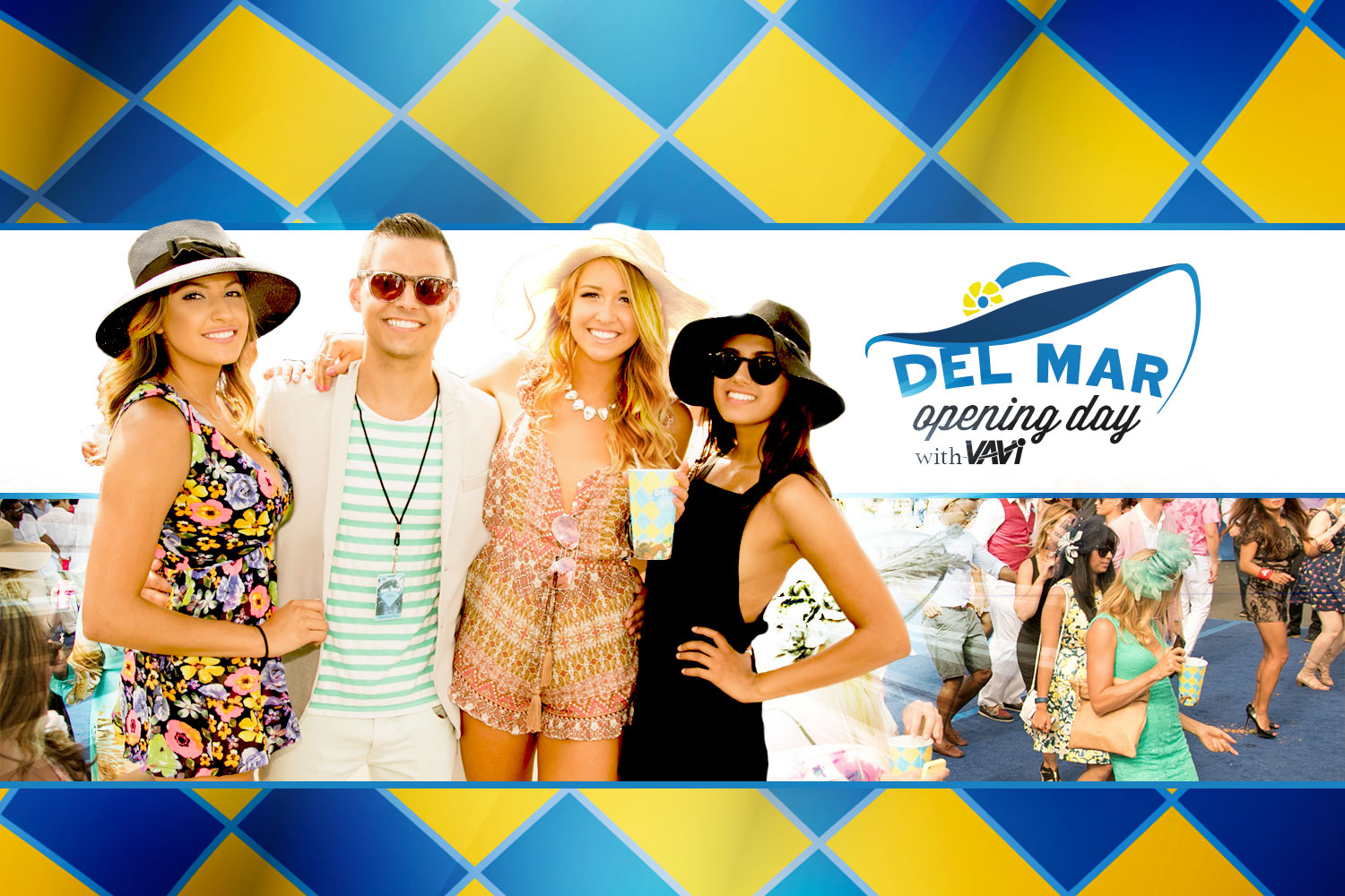 Del Mar Opening Day with VAVi • Weds, July 18th